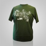 T-shirt MGM serigrafata