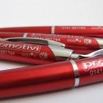 Tampografia su penne a sfera